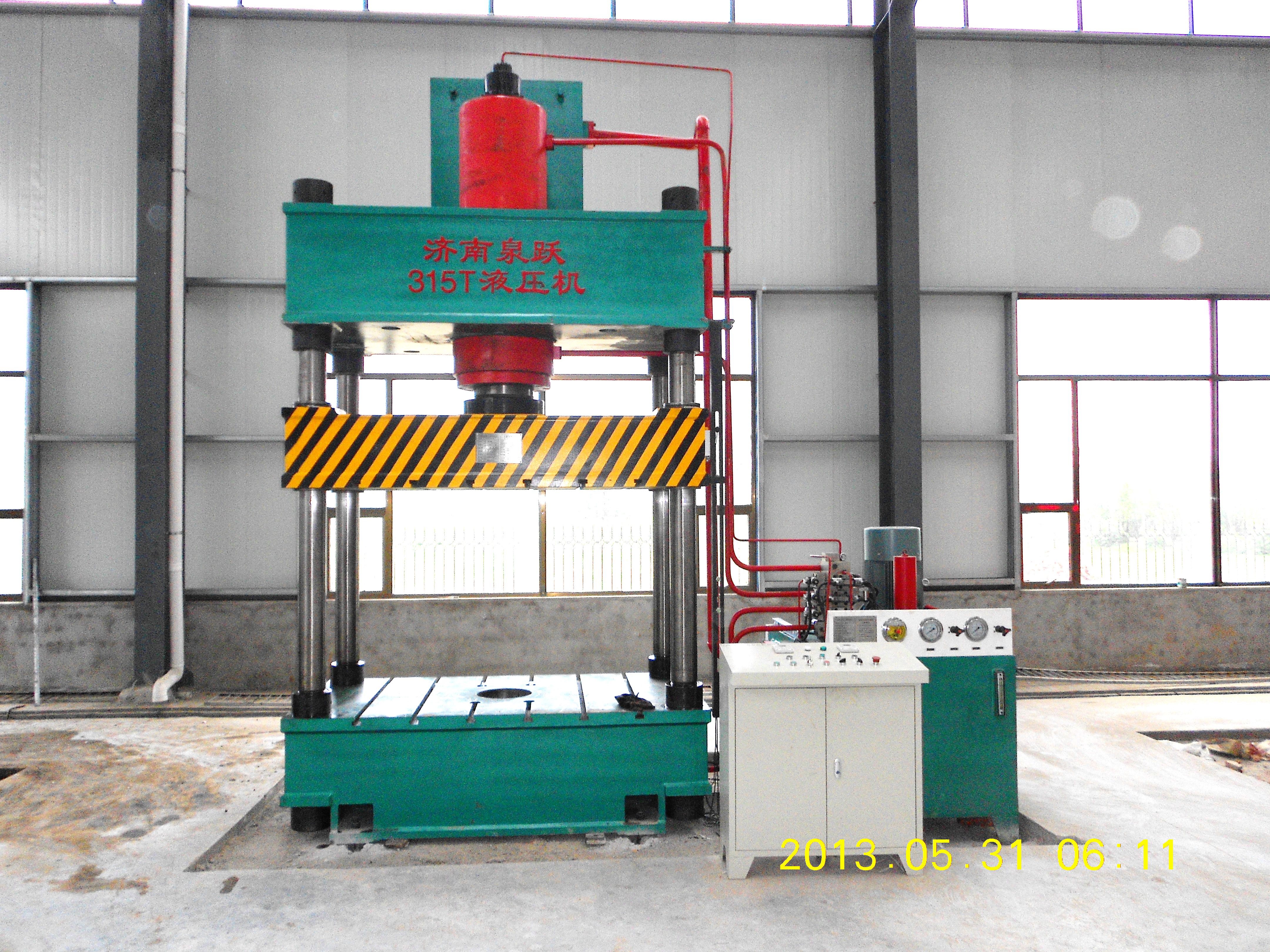 extrusion forming hydraulic press 315T